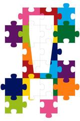 Ausrufezeichen-Puzzle