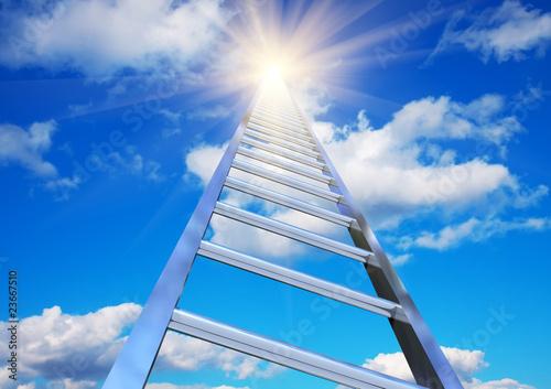 Обои для рабочего стола лестница к небесам