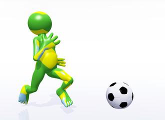 Fußballspieler, Brasilien