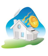 consommation électrique et production d'énergie photovoltaique