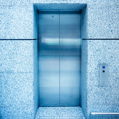 door of elevator