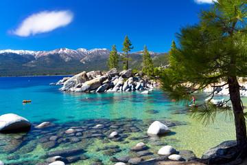 Sand Harbor beach, Lake Tahoe Nevada