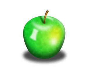 zielone jabłuszko 2
