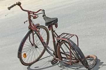 Schrottfahrrad,altes Fahrrad