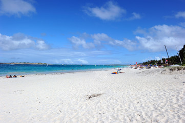Orient bay, French St Martin, Caribbean