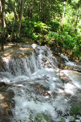 Dunn Water Falls in Jamaica