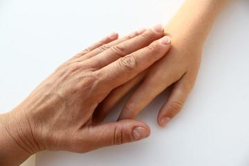main sur main