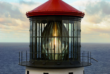 Foto op Canvas Vuurtoren Lighthouse