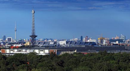 Berlin Skyline HAuptstadt Türme
