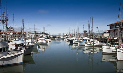 San Francisco - boats in harbour 2