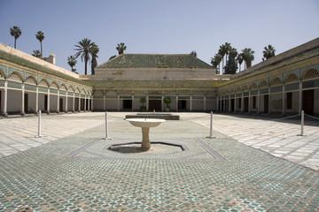 Foto op Canvas Marokko Marrakech - Palazzo Bahia