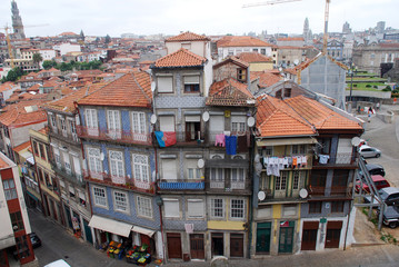 Typical old architecture in Porto(Portugal)