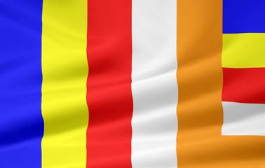 Flagge des Buddhismus