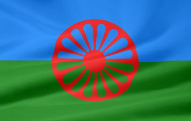 Flagge der Roma