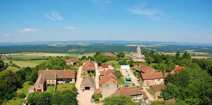 Village de Brancion.