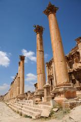 Colonnes de Jerash