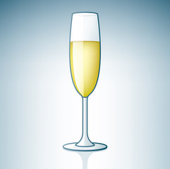 Champaign / Sparkling Wine Glass