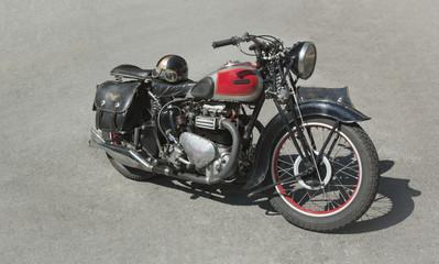 Vintage Motorcycle 70 years old