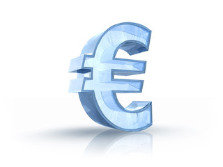 Ice Euro Sign