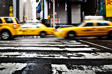 Foto op Canvas New York TAXI TAXI NEW YORK