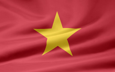 Flagge von Vietnam