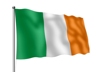 Irland-Flagge