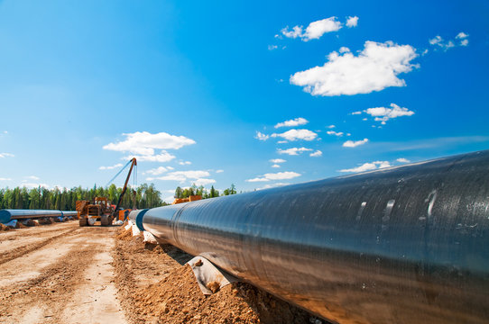 Gas(oil) pipeline construction
