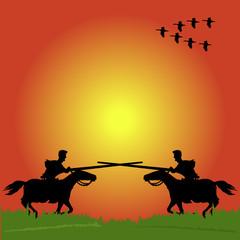 knight battle