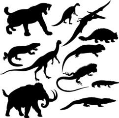 reptile silhouette