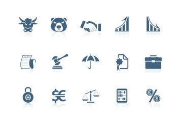 Financila icons | piccolo series
