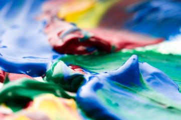 mixing paints. backrgound
