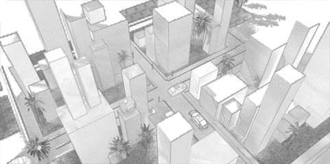 progetto paesaggio urbano