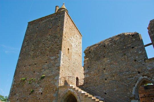 Chateau médiéval de Brancion.