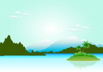Sea Natural Landscape