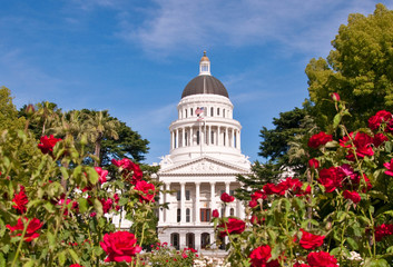 California Capital Building Front View