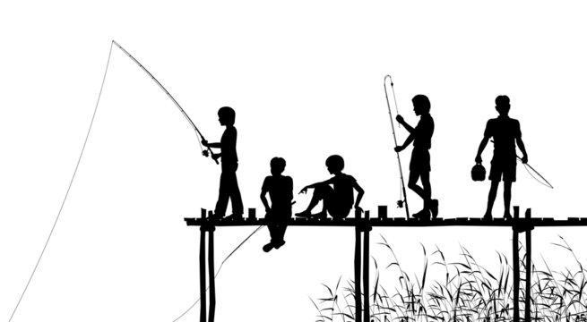 Fishing jetty