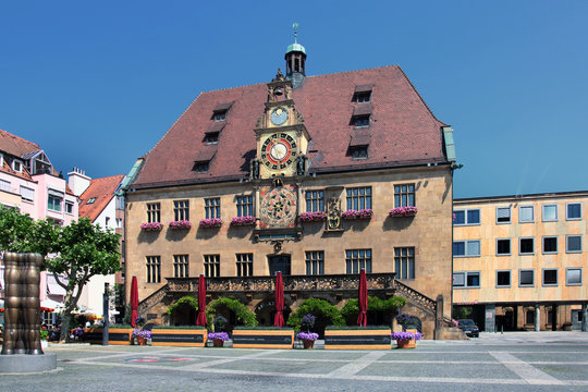 Heilbronn Rathaus 1