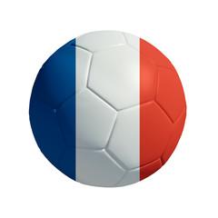 3D Ball withi france  Flag