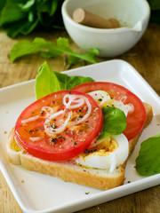 Sandwich for breakfast