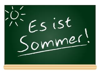 Es ist Sommer!