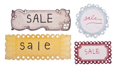 Handwritten Sale Tags