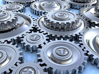 gear wheels background