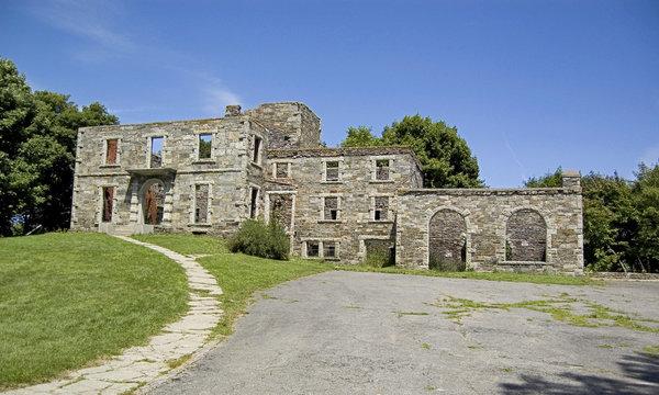 Fort Williams at Cape Elizabeth in Maine, Usa