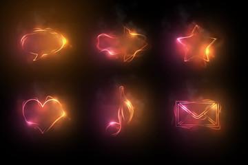 Feuersymbole