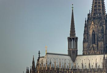 Fototapete - Kölner Dom, Nordturm, Vierungsturm