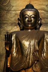 Bubbha statue in burma