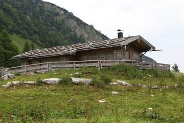 Bergwandern - Hütte