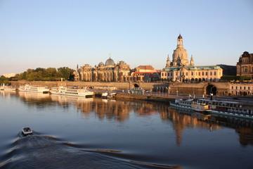 Dresden - Altstadt - Blick