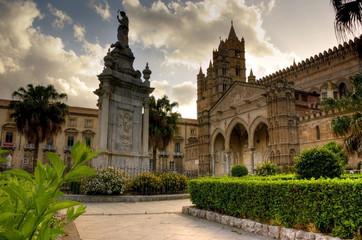 Aluminium Prints Palermo cattedrale di palermo