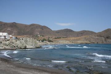 Cala de levante en la Isleta del Moro